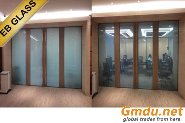 EB GLASS Smart pdlc film,switchable glass film,electric film