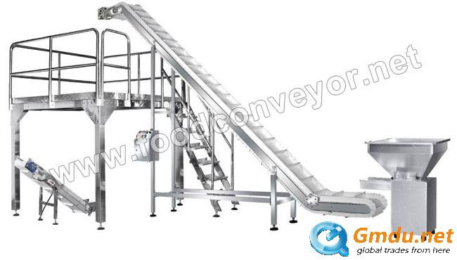 Inclined Food Grade Belt Conveyor