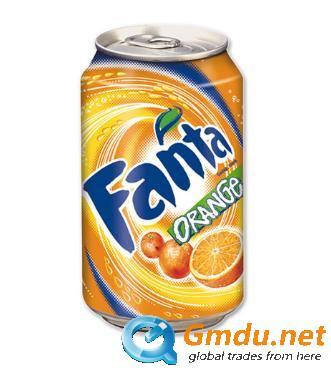 Fanta Orange 24 cans per case