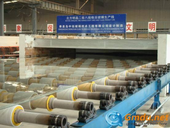 sheet glass production line