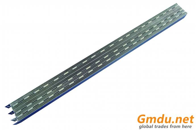 PTC heater for air curtain with electricity