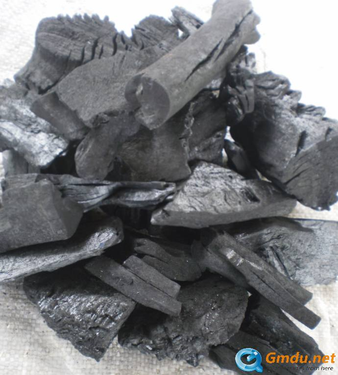 mangrove lum[wood charcoal