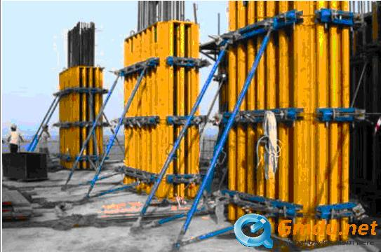 H20 Timber Beam Formwork for Rectangle, Square Concrete Column F