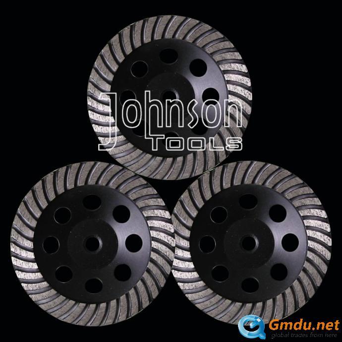 150mm diamond turbo cup wheel