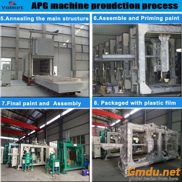 Automatic pressure gelation clamping machine for toroidal current transformer