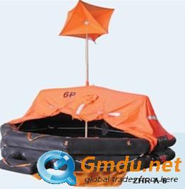 Marine life raft inflatable life rafts