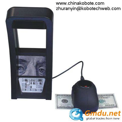 Kobotech KB-50 Documents IR Detector Money Note Bill Cash Currency Image Fake Counterfeit