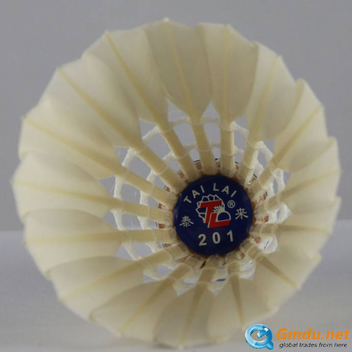 Popular Item TL-201 feather badminton shuttlecock