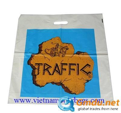 VIETNAM PACKAGING promotional plastic patch handle bags