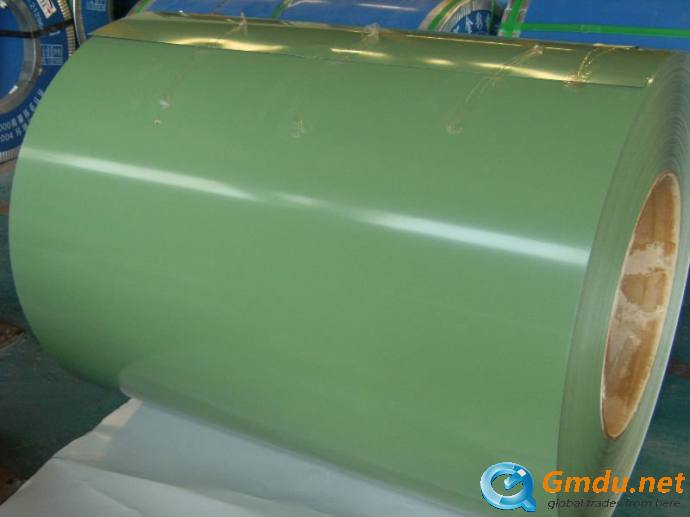pre-painted galvanized steel