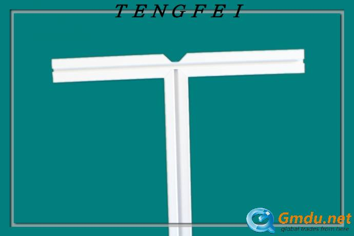 T shaped aluminum t bar/suspended ceiling t gird