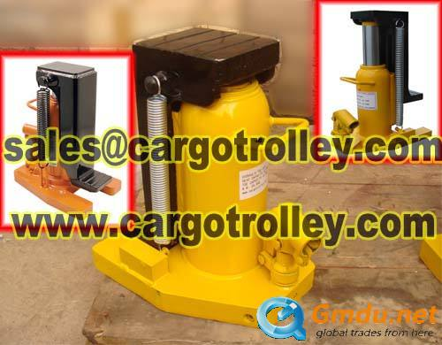 Hydraulic toe jack pictures and instruction
