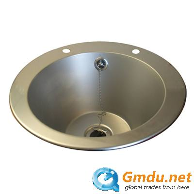 Inset wash basin