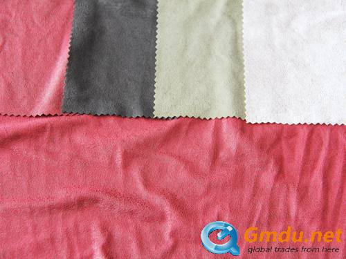 Suede fabric series