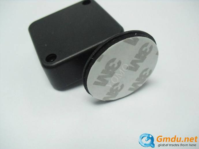 Anti-Theft Pull Box with Round Disk End,Loss Prevention Recoiler,sample protector,retail security device,square security pull bo