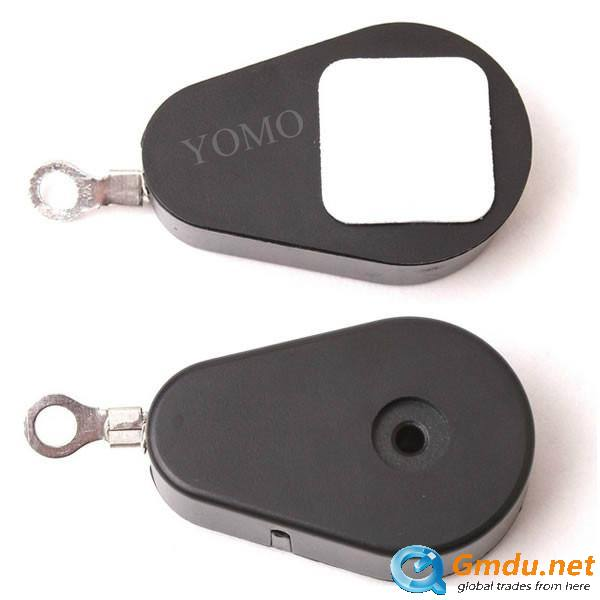 Retractable Pull Box with Key Ring,Pull Box Merchandise Recoiler with Loop End/stop end/EYELET END/Display Deck End/Magnetic Han