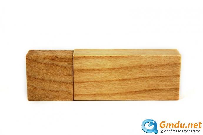 Recycled wood usb flash drive