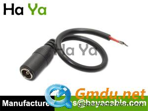 DC Coaxial Jack with Wire