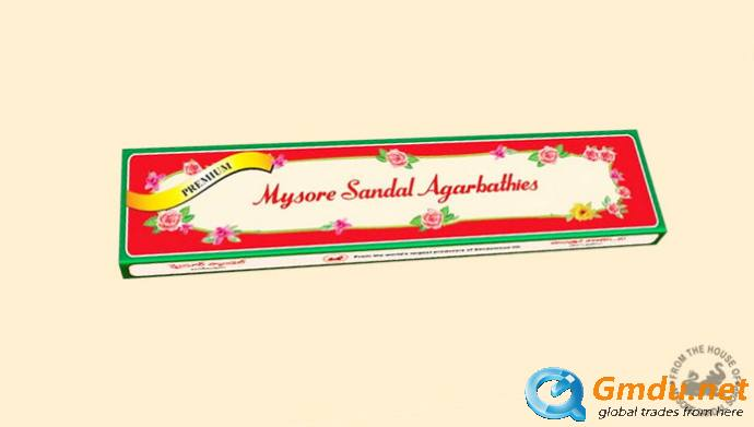 Mysore Sandal Agarbathi Premium Rectangle