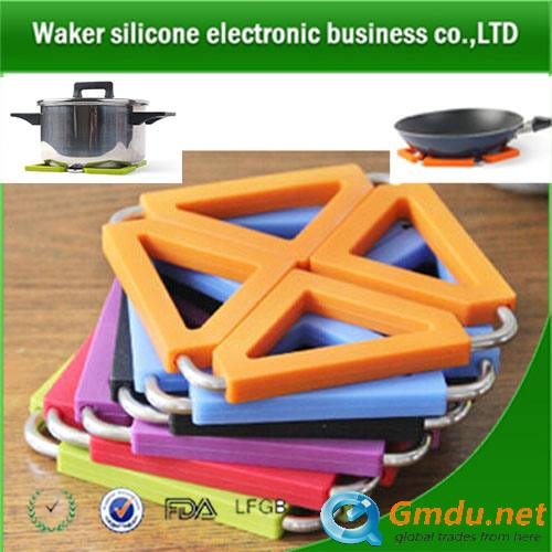 Heat-resistant Silicone Tablemat,Eco-friendly New Design Silicon Cup Cushion