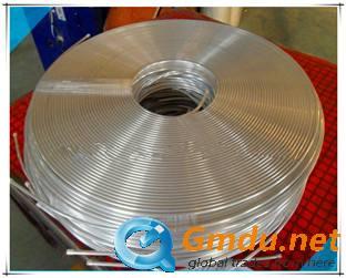 Pancake aluminum pipe coil