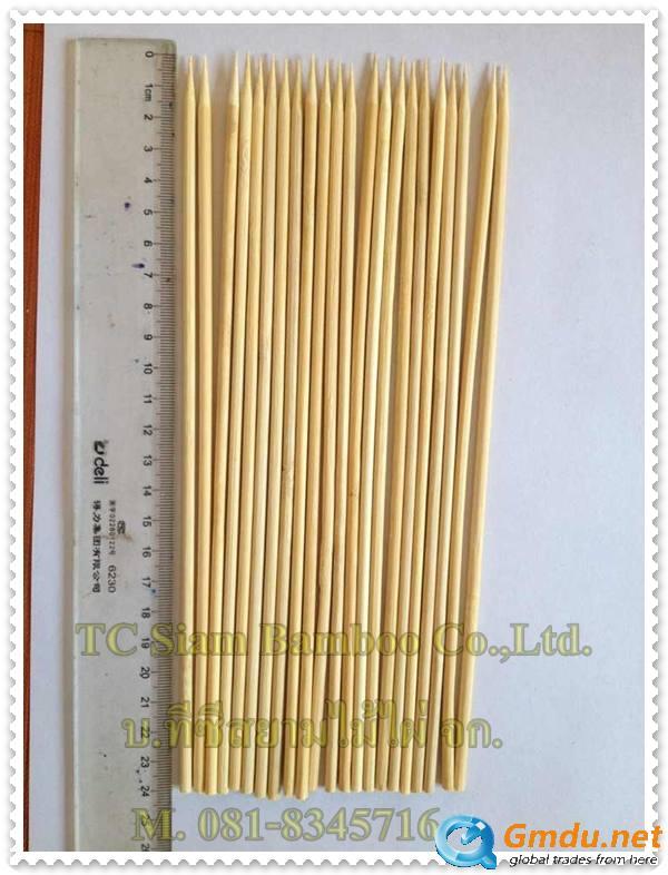 Bamboo sticks , Bamboo skewers