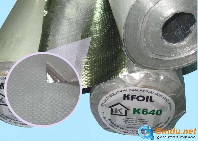 K640 - Reflective Insulation/Radiant Barrier
