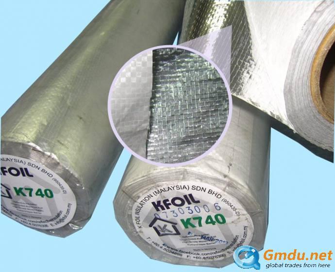 K740 - Reflective Insulation/Radiant Barrier