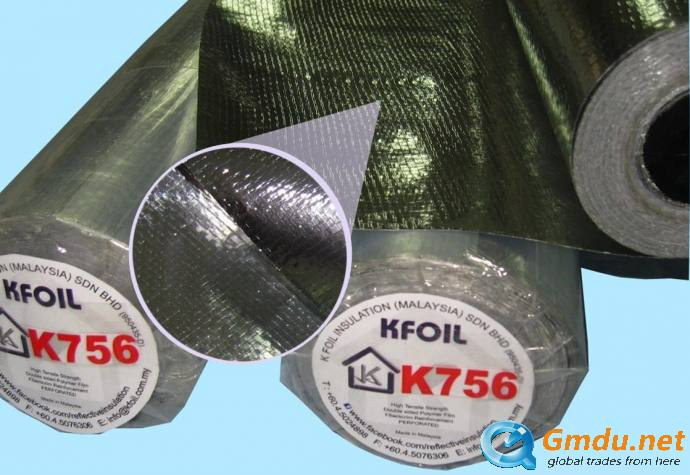 K756 - Reflective Insulation/Radiant Barrier