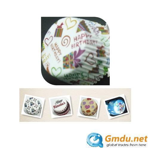 Paper cupcake