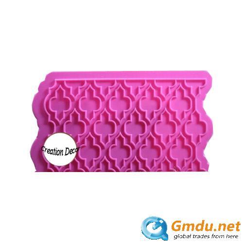 Fondant cake decoration silicone mold
