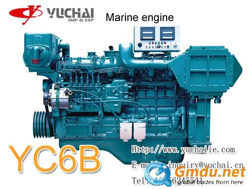 yuchai YC6B 120(165)kw/2300rmp marine engine