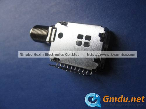 tuner shell for set top box