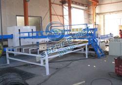 New CNC wire mesh welding machine