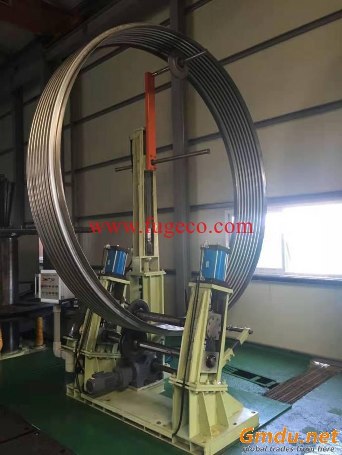 Bellow re-rolling machine DN100-1200-3500mm