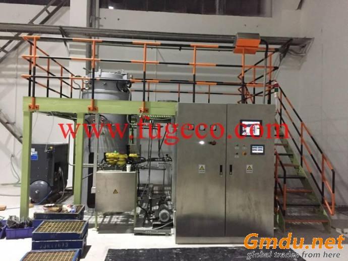 Ceramic core leaching autoclave