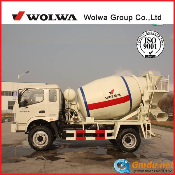 WOLWA 4CBM Concrete mixer truck 96kw
