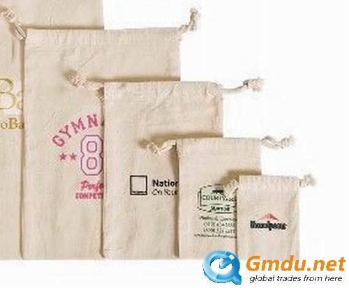 100% Cotton Organic Muslin Bag, Cotton Pouch, Favor Bag