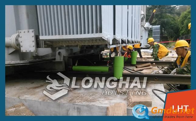 Heavy Track Hydraulic Skidding System
