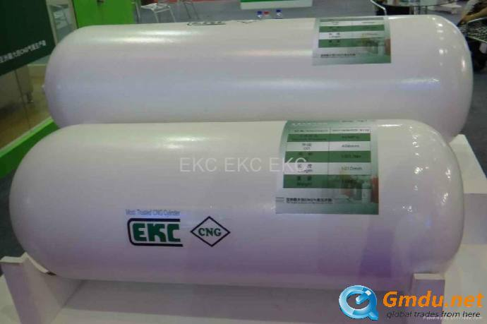 Seamless gas cylinders