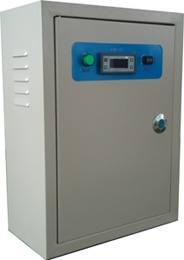 Electric control box for refrigerant unit