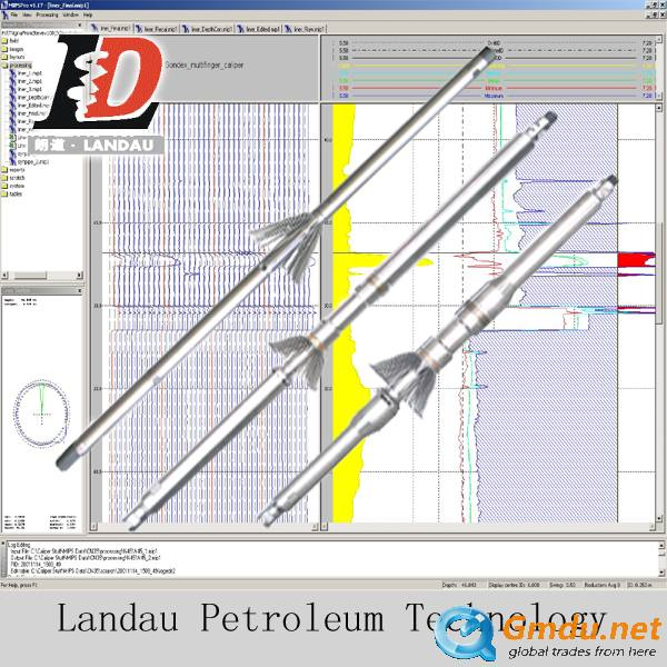 Multi-finger Caliper Logging Tools with 24/40/60 Arms Detecet The Damage of Casing/Tubing