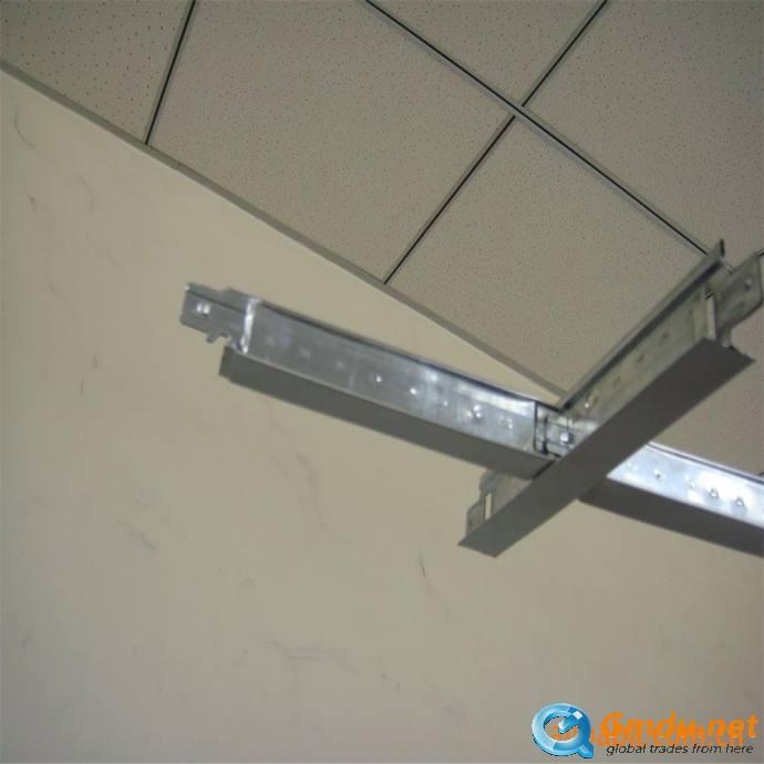 Interior Decoration Suspended ceiling Mineral Fiber Acoustic Ceiling