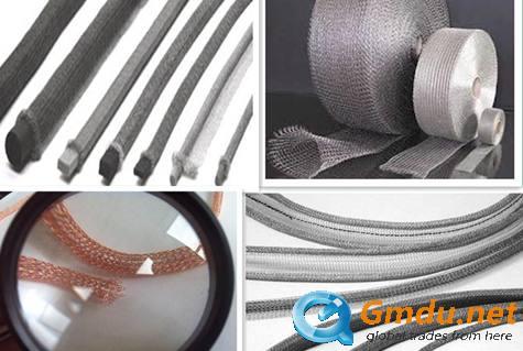 EMI shielding knitted wire mesh