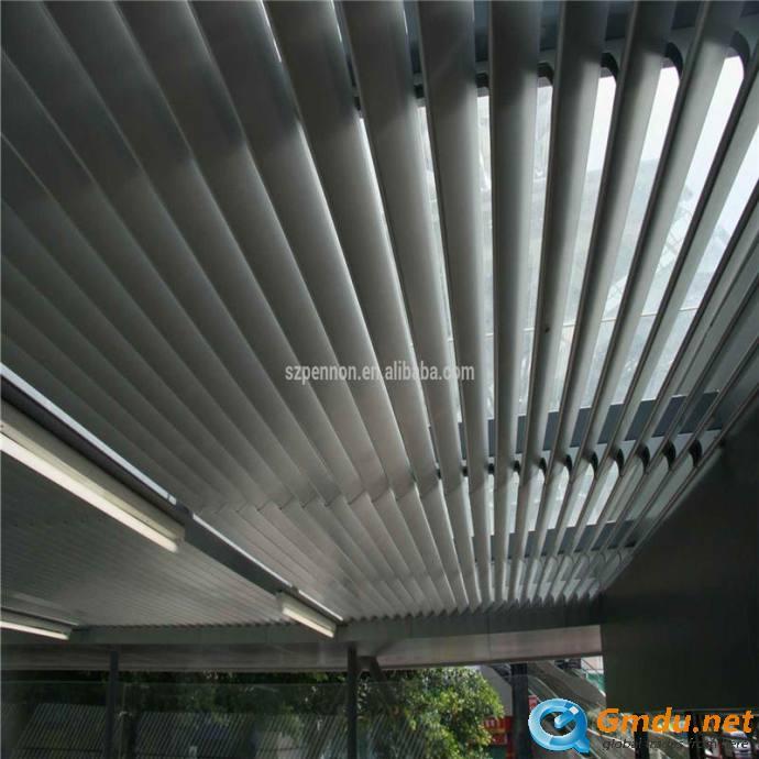 Metal ceiling,aluminum hanging-pieces ceiling