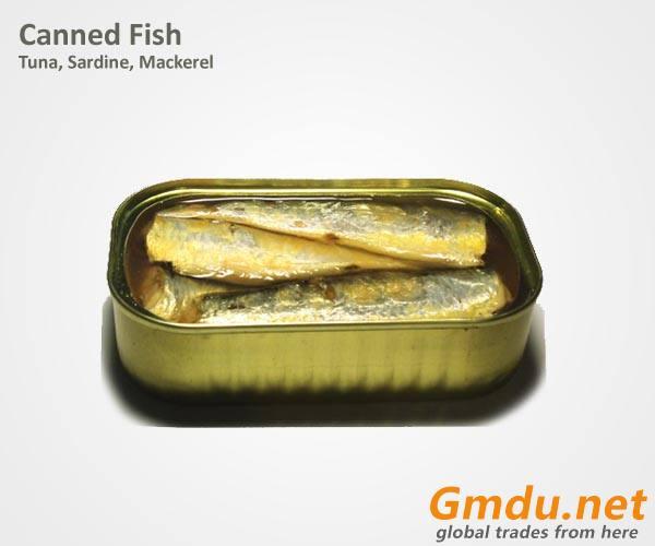 Canned Sardine / Tuna / Mackerel Fish