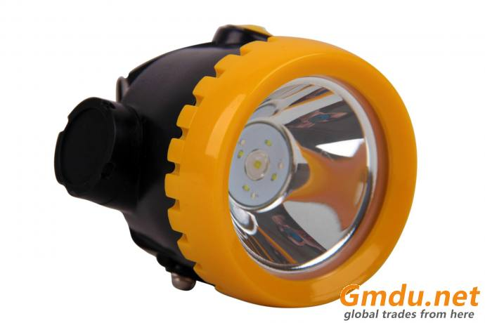 ATEX certified cordless miner's cap lamp, mining headlight