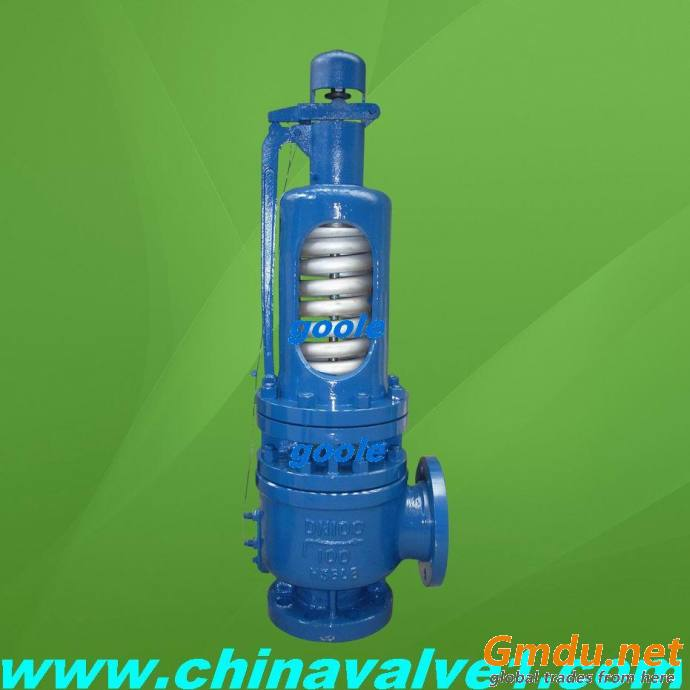 High temperature and high pressure safety valve