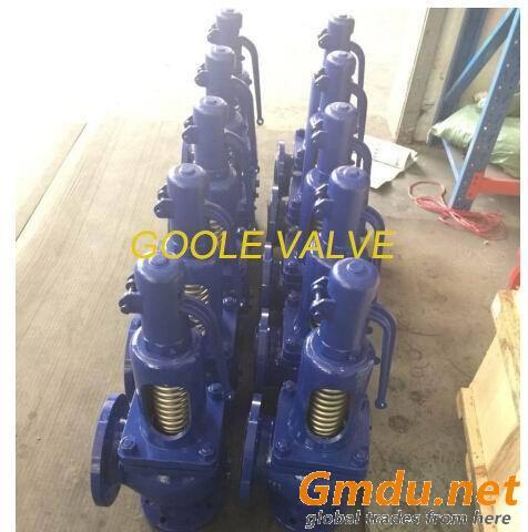 DIN standard spring loaded pressure safety valve