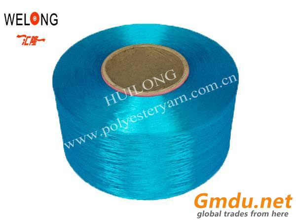100d colored dty polyester yarns